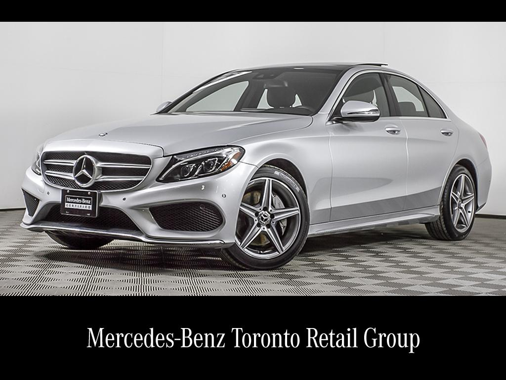 certified pre-owned 2017 mercedes-benz c-class c300 4-door sedan