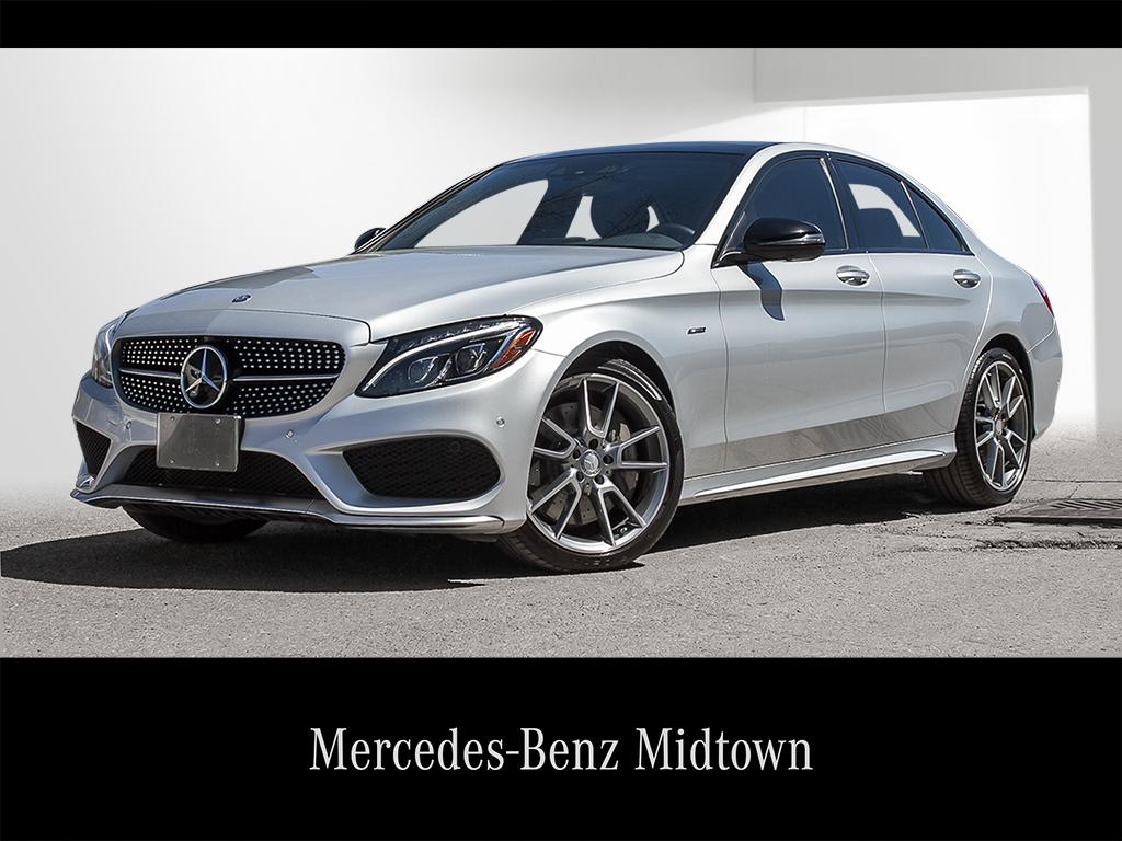 Mercedes Benz Midtown >> Certified Pre Owned 2016 C 450 Amg Mtp2267882 Mercedes
