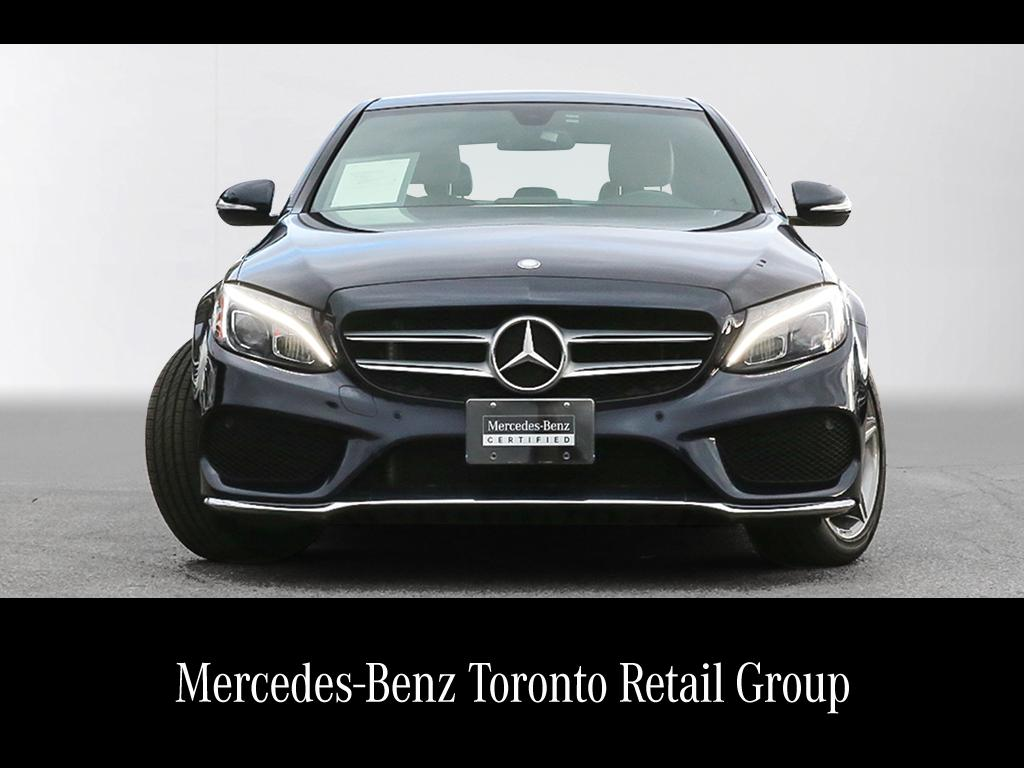 Certified pre owned 2015 mercedes benz c class c400 4 door for 2015 mercedes benz c400