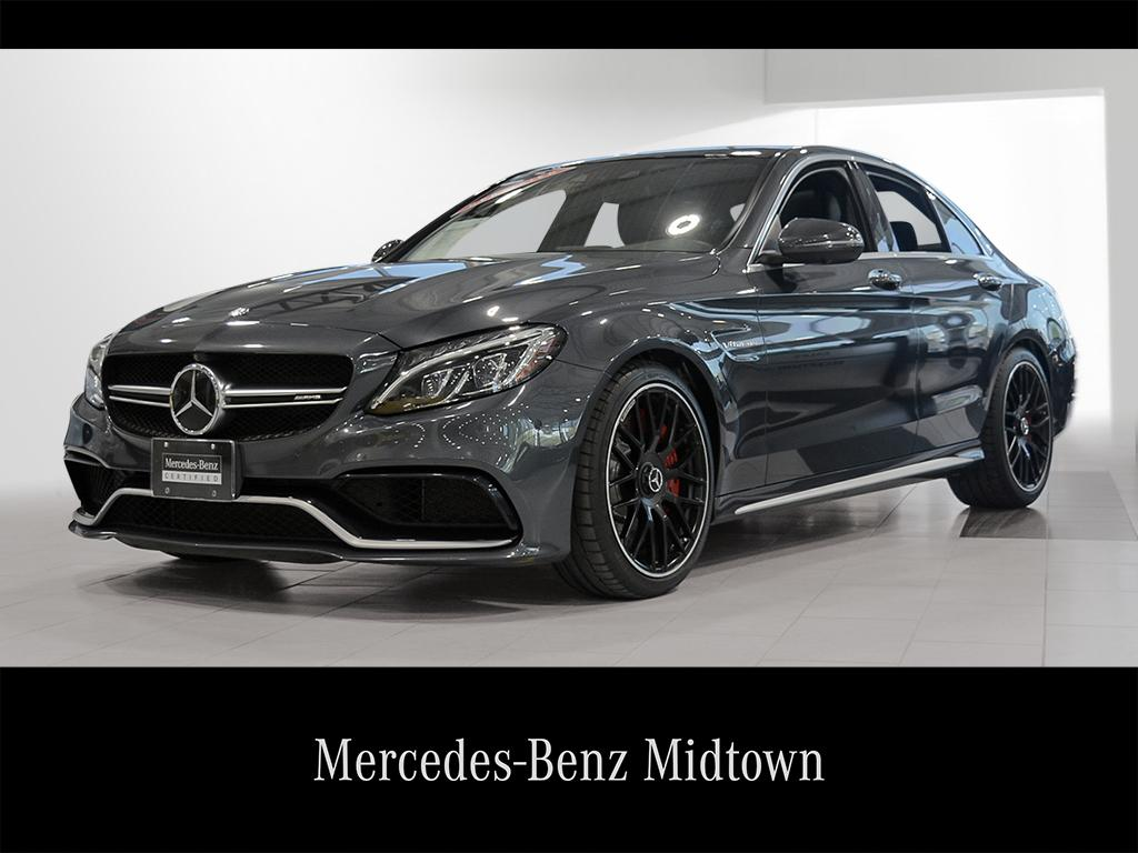 Mercedes Benz Midtown >> Certified Pre Owned 2016 C 63 S Amg Mtp2330695 Mercedes