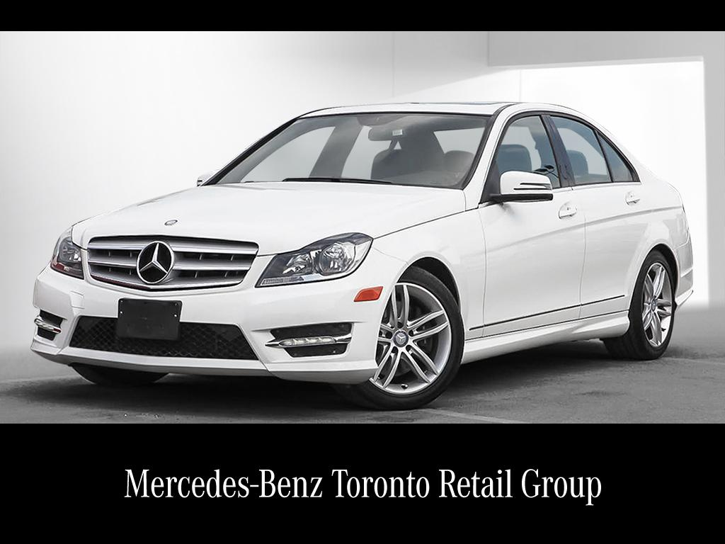Certified pre owned 2013 mercedes benz c class c300 4 door for Certified pre owned mercedes benz