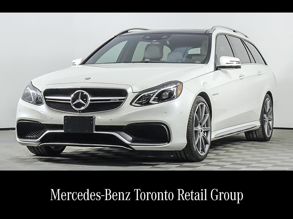 Certified pre owned 2016 mercedes benz e class e63 wagon for Mercedes benz certified pre owned canada