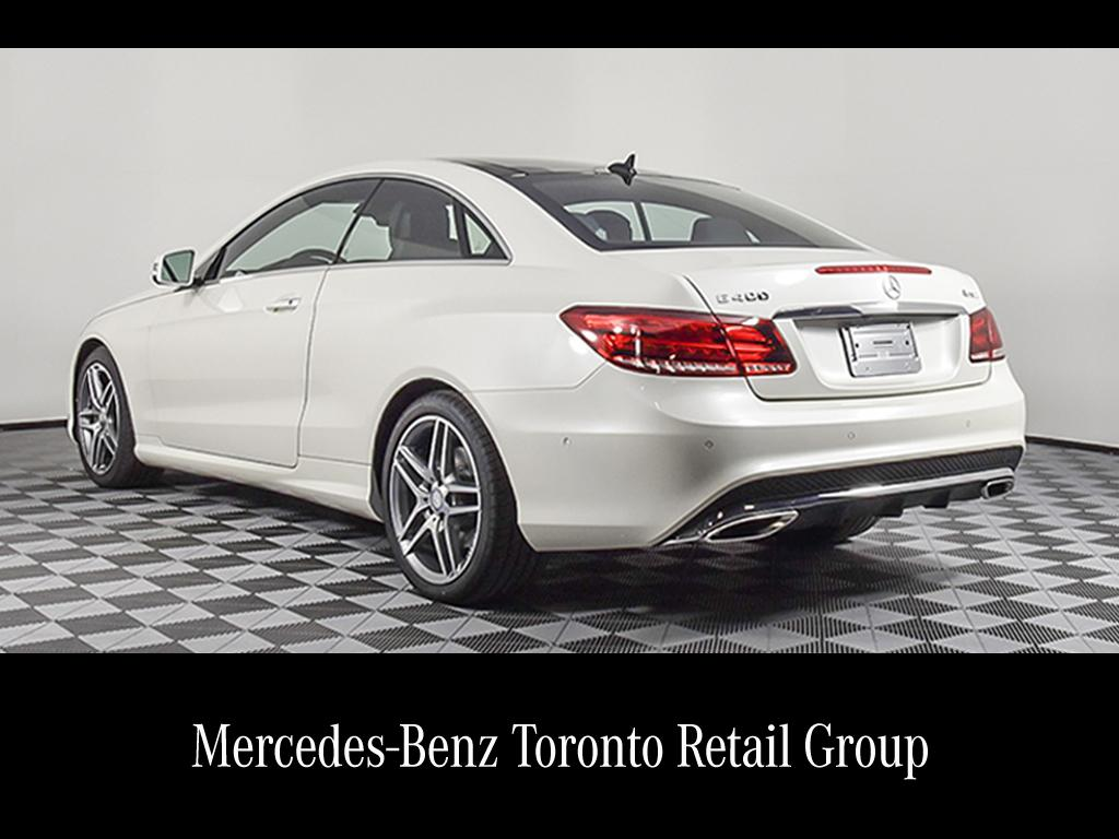 Certified pre owned 2017 mercedes benz e class e400 coupe for Mercedes benz downtown service