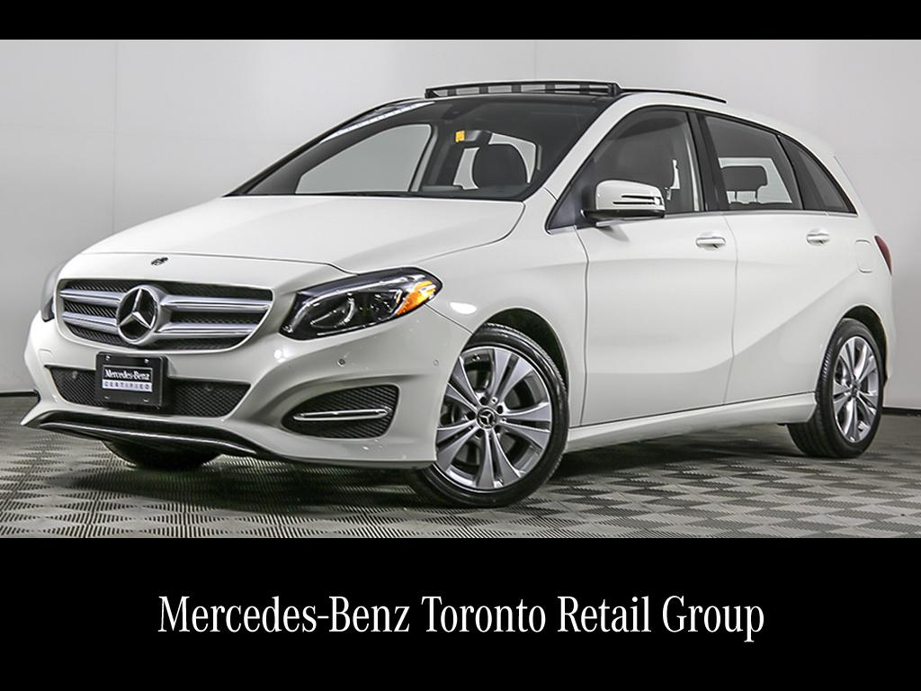 Certified Pre-Owned 2018 Mercedes-Benz B-CLASS B 250