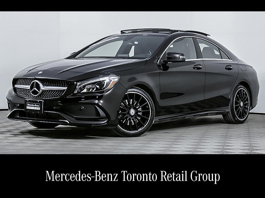 certified pre-owned 2017 mercedes-benz cla cla250 coupe